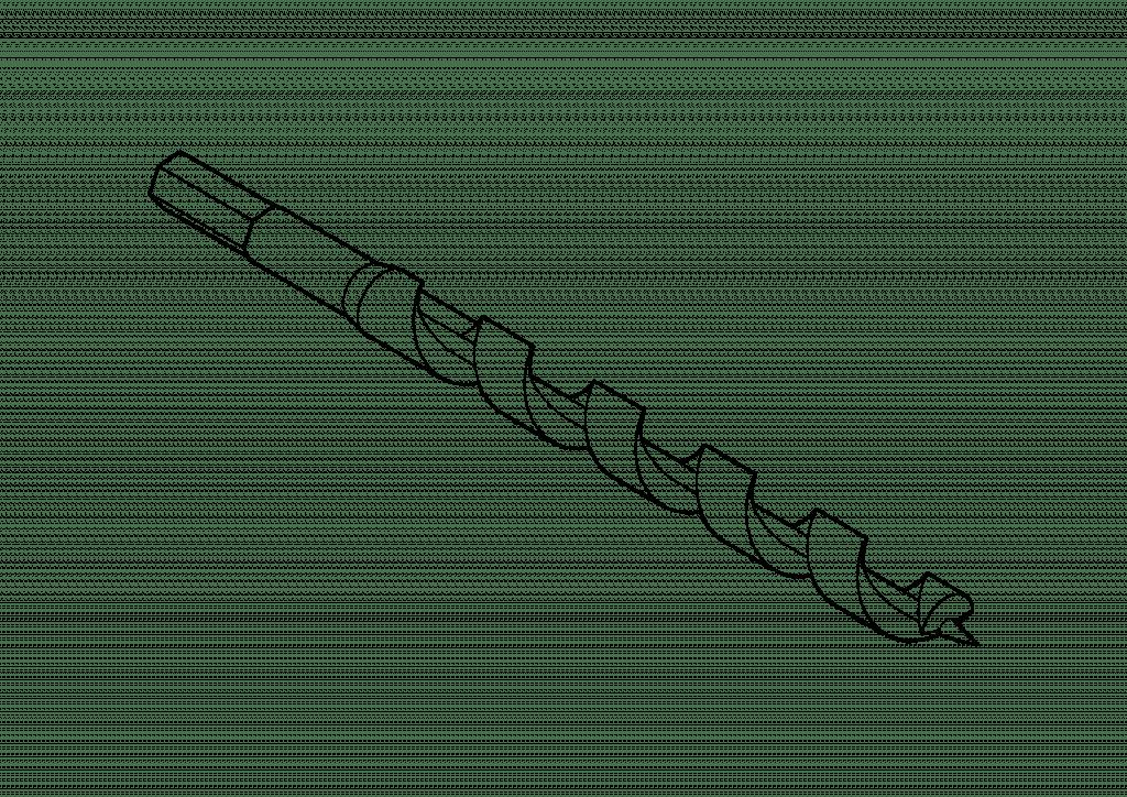 18mm Spiralbohrer